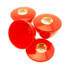 ROUND RED Container 5 Piece Set